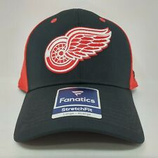 Detroit Red Wings Nhl Hockey Fanatics Stretch Fit Cap - Adult Sizes