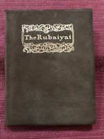 The Rubaiyat of Omar Khayyam, Suede Cover, Plate Illustrations tipped in