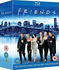 Friends Complete Series Seasons 1 2 3 4 5 6 7 8 9 10 1-10 Bluray box set NEW