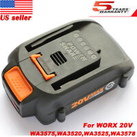 WA3525 For WORX WA3520 20V Tool Battery Lithium WG545s,WG890,WG891,WG151,WG151.5