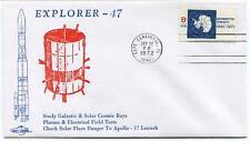 1972 EXPLORER 47 Galactic Solar Cosmic Ray Plasma Electrical Field Flare Apollo