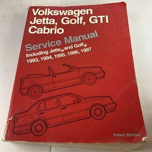 Volkswagen Jetta/Golf/GTI/Cabrio 1993-1997 Service manual Bentley