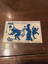 1800s Early Black Americana Blotter Card Van Stans Stratena Instant Cement Glue