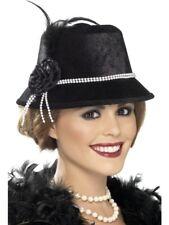 Donna MASCHIETTA Cappello 1920s Accessorio Vestito anni '20 GRANDE GATSBY da