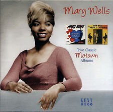 """MARY WELLS  """"THE ONE WHO REALLY LOVES YOU / TWO LOVERS""""  2 CLASSIC ALBUMS"""