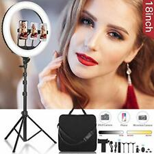 CXYP 18 inch Dimmable LED Ring Light Kit, 3200K-6000K Ring Light with Tripod