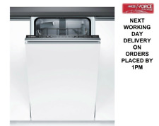 Bosch SPV25CX00G Slimline 45cm A+ Built In/Integrated 9 Place Setting Dishwasher