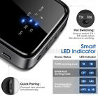 ELEGIANT Bluetooth 5.0Transmitter Receiver LED Wireless Home Stereo System US US