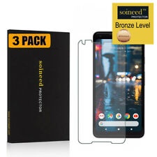 """[3-Pack] SOINEED Google Pixel 2 XL 6"""" Tempered Glass Screen Film Cover Protector"""