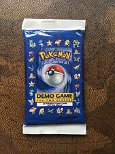 Pokemon 1998 2-player Demo Game Pack E3 Sealed