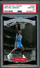Michael Jordan 1995-96 Upper Deck UD SP All-Stars Die-Cut #AS2 PSA 10 Gem Mint