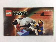 2001 LEGO Set 7310 Life on Mars MONO JET Replacement Manual Instruction Booklet