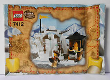 Lego Bauanleitung/Instruction 7412 Orient Expidition - Yeti Versteck