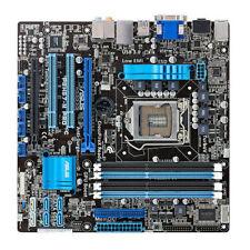 1155 Mainboard Asus P8H67-M PRO ATX Motherboard mit Blende gebraucht