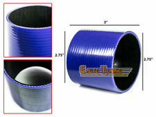 """BLUE 2.75"""" Inch 70mm Silicone 3ply Coupler Hose Turbo Intake Intercooler SB SC"""