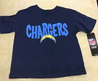 NFL / Team Athletics, Toddler, San Diego Chargers Logo T-Shirt, Sizes 2T - 4T