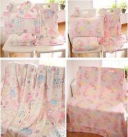 my melody little twin stars fuzzy blanket blankets qulit pillowcase cartoon rug