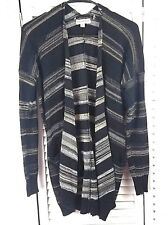 Women's Poof Excellence Sweater Size L Cardigan with Pockets