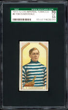 1911-12 C55 Imperial Tobacco #6 Tom Dunderdale 2nd year card - SGC 70 Excellent+