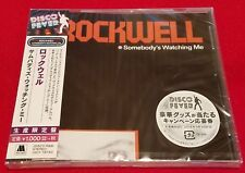 ROCKWELL - SOMEBODY'S WATCHING ME - JAPAN 2018 CD  UICY-78740 - MICHAEL JACKSON