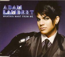 Maxi CD - Adam Lambert - Whataya Want From Me - #A3511