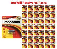 48x Panasonic CR-2 Lithium Battery CR2 CR-2PA 3V Fresh Photo Batteries