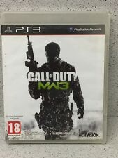 JEUX PS3 CALL OF DUTY MODERN WARFARE 3 AVEC NOTICE PLAYSTATION
