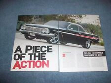 """1961 Chevy Impala RestoMod Article """"A Piece of the Action"""""""