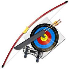 """Kids Beginners Leisure Recurve Bow Junior Archery Bow and Arrow Set (44"""")"""