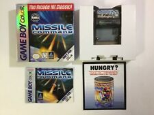 Missile Command Gameboy Color GBC CIB Complete Authentic GAME BOY