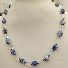 Sodalite and Moonstone Necklace