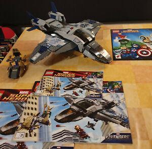 Lego Marvel Super Heros Quinjet 6869 mit BA + Poster ohne Figuren