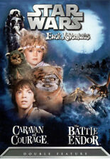 STAR WARS EWOK ADVENTURES: CARAVAN OF COURAGE / THE BATTLE FOR ENDOR (DVD, 2004)