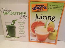 LOT Idiots Guide to Juicing AND Green Smoothie Recipes Drink Healthy Fresh Juice