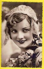cpa VIVE SAINTE CATHERINE à Antoinette TURCK de KEMMEL Bonnet Dentelle lace