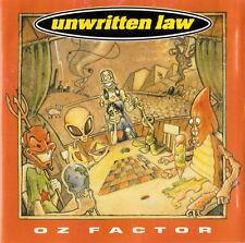 Unwritten Law - Oz Factor (1996)  CD  NEW  SPEEDYPOST