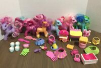 Huge Lot My Little Pony Lot Of Figures And Accessories Ponies MLP