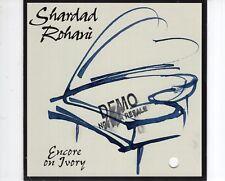 CD  SHARDAD ROHANIencore on ivoryNEAR MINT  (R1112)