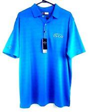 Callaway Opti-Dri Opti-Vent Mens Embroidered Blue Short Sleeve Golf Polo Size L