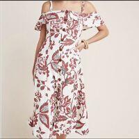 anthropologie Midi dress, Sz 0 , NWOT