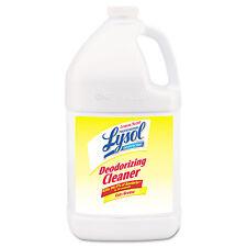Lysol Disinfectant Deodorizing Cleaner 1gal Bottle Concentrate Lemon 4/Carton