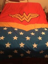 WONDER WOMAN TWIN/FULL BED COMFORTER DC Comics Justice League Themyscira Bedding
