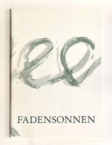 Croe - Celan: Fadensonnen (1996). Nummeriertes, signiertes Exemplar.