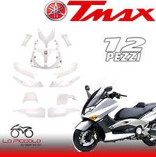 KIT CARENE COMPLETO BIANCO PERLA 12 PEZZI YAMAHA TMAX T MAX 500 2001 2002 2003