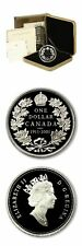 Canada Restrike of the 1911 Proof Silver Dollar $1 2001 Mint Issued Case COA