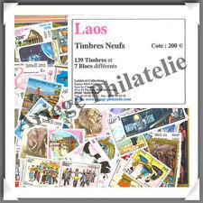 LAOS - Timbres NEUFS - 139 Timbres et 7 Blocs - Années 1989 à 2001