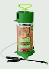 Ronseal Precision Pump Fence Sprayer 2 Spray Settings