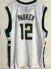 Adidas NBA Jersey Milwaukee Bucks Jabari Parker White sz S