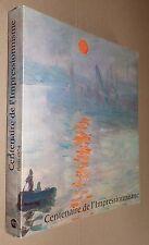 CENTENAIRE DE L'IMPRESSIONNISME RMN GRAND PALAIS 1974