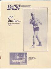 BOXING COLLECTORS NEWS JOE BUTLER  ISSUE #185  DECEMBER 2003